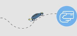 Unterwegs im E-Auto mit EWE eMobility.