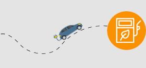 Unterwegs im E-Auto mit EWE eMobility