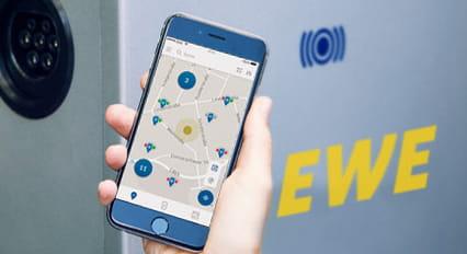 Unterwegs mit eMobility und EWE