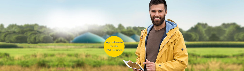 Jetzt per App die eigene Stromerzeugung managen mit EWE.