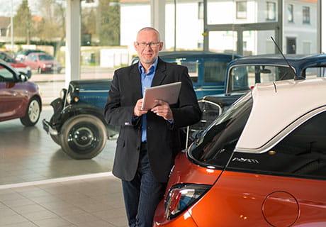Ein Beispiel aus der Praxis: Telekommunikation für das Unternehmen HIRO Automarkt