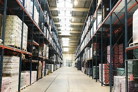 EWE Licht contracting für Thomsen + Kühne Logistics GmbH