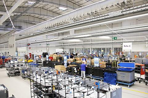 EWE Licht contracting für den Automobilhersteller Volkswagen