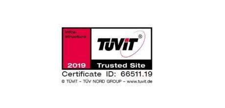 Das EWE Webhosting ist zertifiziert.