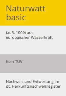 EWE Strom Naturwatt basic