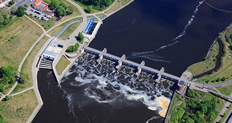 Nutzen Sie den Ökostrom vom Wasserwerk