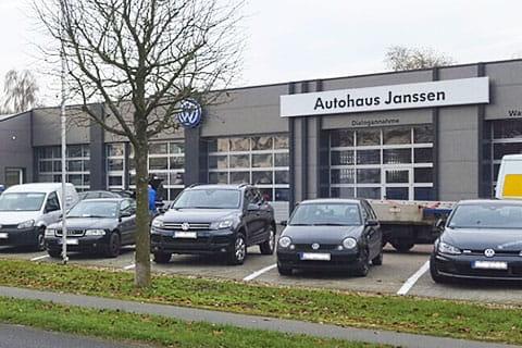 Das Autohaus Janssen wird von EWE beim Thema Wärme unterstützt.