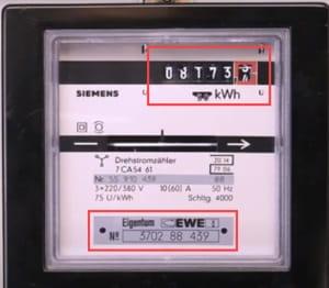 Erfahren Sie mehr über Eintarif-Drehstromzähler im Servicebereich von EWE.