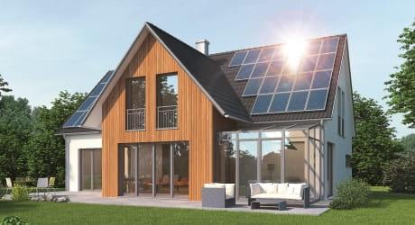 Finden Sie den passenden Stromspeicher für eine große PV-Fläche.