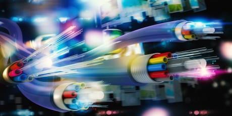 Nutzen Sie fortschrittliche Technik von Glasfaser.