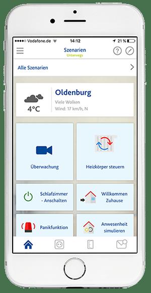 App Screen: alle Szenarien