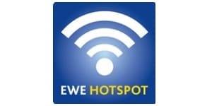 Jetzt den EWE Hotspot nutzen.