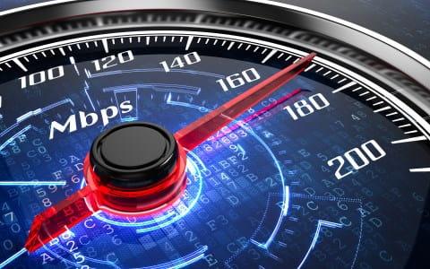 Testen Sie die Geschwindigkeit Ihres Internet-Anschlusses.