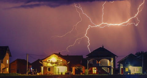 Blitzschutz für Ihre Geräte - Tipps von EWE