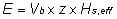 Formel themische energie