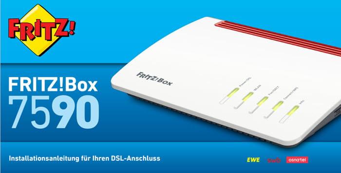 Anleitung Installation DSL FritzBox 7590