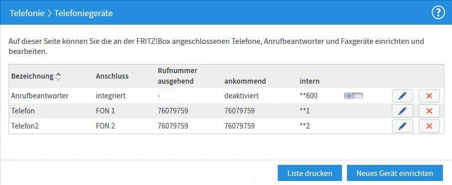 neues Telefon in der FRITZ!Box 7490 einrichten Schritt 8