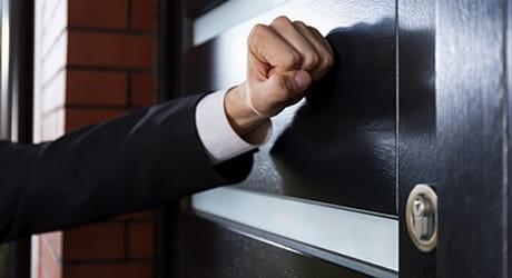 Schützen Sie sich vor unerwünschten Besuchen und Anrufen.