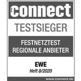 EWE ist Testsieger im Festnetztest.