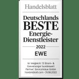 EWE ist ausgezeichnet als einer der besten Energiedienstleister 2020