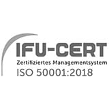 IFU-Zertifikat - Vertrieb von Energie sowie Energiedienstleistungen und Betreiben von Anlagen zur Bereitstellung von Energie