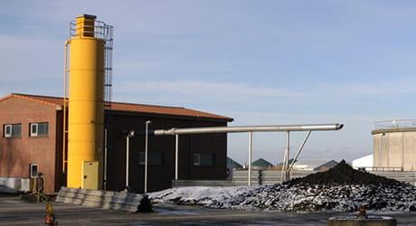 Klärschlammanlagen von EWE Wasser.